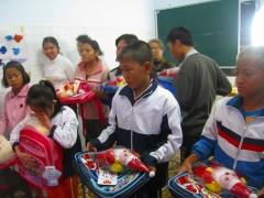ホアドン村障がい児教室