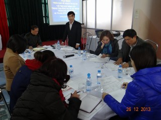 エファジャパンの支援計画についてのミーティング